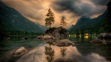 Skab magisk stemning i hjemmet med fototapet af natur