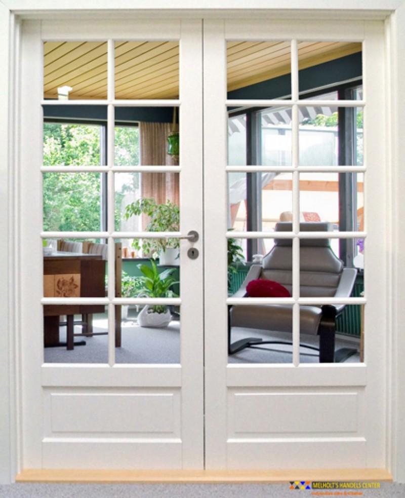 Skab en smuk overgang mellem rummene med franske døre